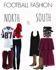 Gameday: Northern vs. Southern Way - Football fashion