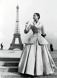 Paris and wonderful Dior style reunited.