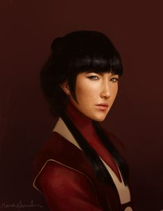 Avatar and Legend of Korra Realistic Portraits http://geekxgirls.com/article.php?ID=2789