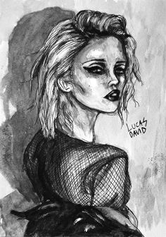 Sky Ferreira no.2 by Lucas David