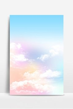 Fantasy sky clouds background#pikbest#illustration Theme Background, Background Pictures, Blue Sky Clouds, Fantasy Forest, Forest Illustration, Illusion Art, Galaxy Art, Free Illustrations, Illusions