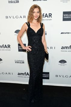 Arizona Muse at The 2014 amfAR Gala and Rachel Comey's Red Hook Dinner