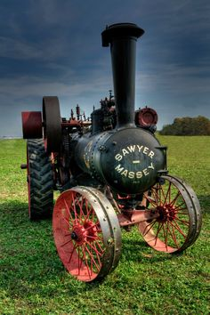 Steam Tractor by Mark Wagter