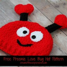 Preemie Love Bug Hat - Media - Crochet Me