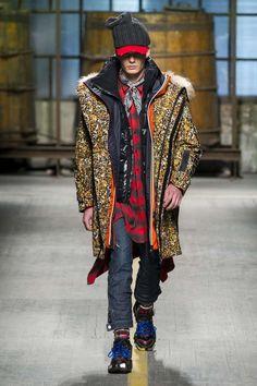Male Fashion Trends: Dsquared2 Fall-Winter 2017 - Milan Fashion Week