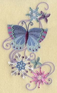 Machine Embroidery Designs at Embroidery Library! – Machine Embroidery Designs at Embroidery Library! Sewing Machine Embroidery, Embroidery Transfers, Learn Embroidery, Free Machine Embroidery Designs, Crewel Embroidery, Hand Embroidery Patterns, Vintage Embroidery, Embroidery Applique, Embroidery Jewelry