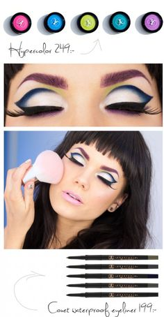 Linda Hallberg - Make-up look