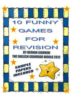 10 FUNNY GAMES FOR REVISION