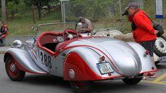 "Tatra 75 ""Bohemka"" - Coachbuilt by Karosarna Bohemia in Vysoke Myto Vintage Cars, Antique Cars, Mid Size Car, Rear Wheel Drive, Car Photos, World War Two, Convertible, Classic Cars, Automobile"
