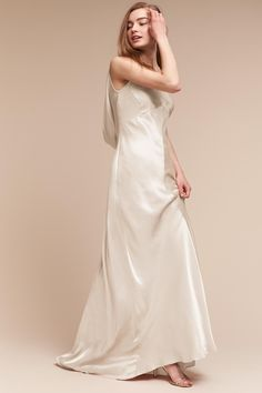 5a3d8cf0a10e Edie Dress from @BHLDN Bhldn, Satin Dresses, Occasion Dresses, London  Fashion,