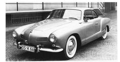 OG | Volkswagen / VW Karmann-Ghia | Prototypes dated 1954 designed by Sergio Sartorelli from Ghia