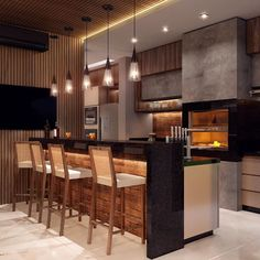 home interior design kitchen Modern Kitchen Cabinets, Kitchen Nook, Kitchen Interior, Kitchen Dining, Red Bedroom Design, Interior Design, House Front Design, Summer Kitchen, Modern House Plans