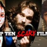 Top Ten Scary Films - If you'd rather not have to leave the lights on after dark, why not check out my family friendly picks for the season. If, however you're made of stronger stuff than I am; indulge in my favourite frightening flicks this October 31st.