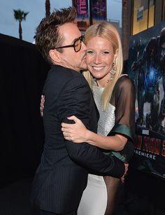 Gwyneth & Robert during the 'Iron Man 3' Los Angeles premiere. If they weren't both married I would want them to date.