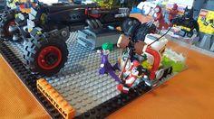 Batman The Movie scontro in auto moc by Luca Tanca