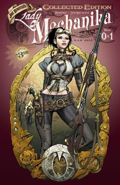 Lady Mechanika: Tablet of Destinies #4  Benitez