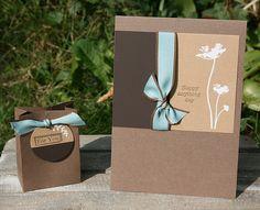 elke's blog: card and box/kaart met bijpassend doosje