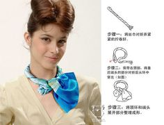 How to Tie a Scarf' tutorial