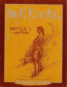 The Roy Krenkel RGK Portfolio #1 (1983)