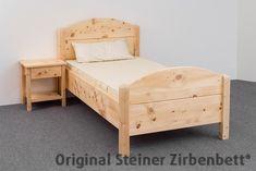 Zirbenbett Breitenstein Massivholzbett
