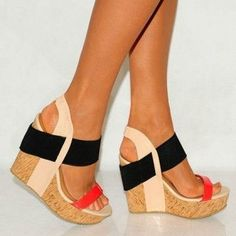 #Addict #Wedges Stylish Shoes Trends