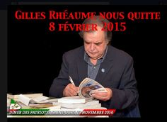 Au dîner des Patriotes à St-Ouis, Gilles Rhéaume