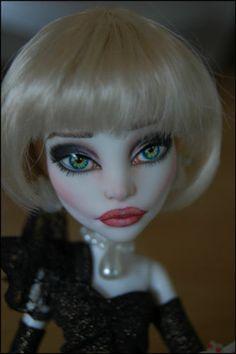 "OOAK Art Doll Monster High Repaint and Custom ""Widow"" by Alex | eBay"