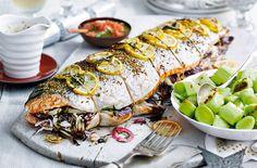 Stuffed Salmon | Christmas Main Recipes | Tesco Real Food