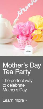 Mothers Day DIY Tea Party favors!! These are So Adorable and Easy Directions to follow!! Mom or Grandma will Love them!