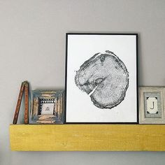Looking for a fathers day gift? This original woodblock print from a 100 year old pine will make it one to remember.