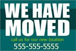 Advertise your new address service on outdoor banner in cheap rate online from bannerbuzz.ca