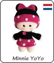 Minnie Yoyo amigurumi