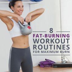 8 Fat-Burning Workouts for Maximum Burn!  #fatburn #workouts #fitness #weightloss