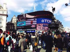 Piccadilly Circus, London!