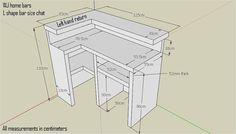 Premium Bar Counter Micro Pub Man Cave Summer house patio