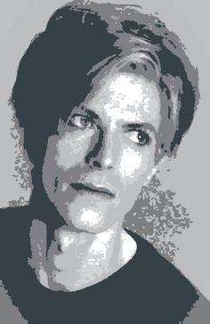 DAVID BOWIE David Bowie, Artwork, Work Of Art, Auguste Rodin Artwork, Artworks, Illustrators