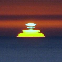 """The famous """"Green Flash"""" at sunset in Key West, Fl"""