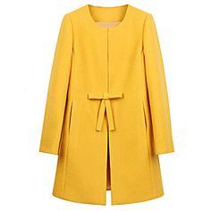Lirong casaco longo inverno quente – BRL R$ 86,23