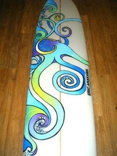 Octopus Long Board