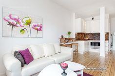 Угловая квартира-студия 28 м в Стокгольме