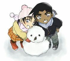 Magic Kaito, Conan, Sherlock Holmes, Anime Couples, Cute Couples, Heiji Hattori, Kaito Kid, Gosho Aoyama, Toyama