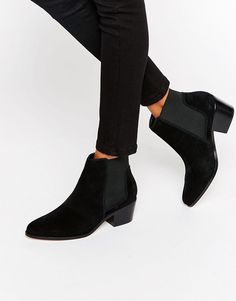 Image 1 ofMiss KG Spider Suede Chelsea Boots