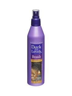 le spray pour cheveux tresss de dark lovely est enrichi en vitamine e et en - Coloration La Rich