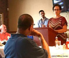 Nashville City Civitan hosts Adult Literacy Council speaker Julie Kramer