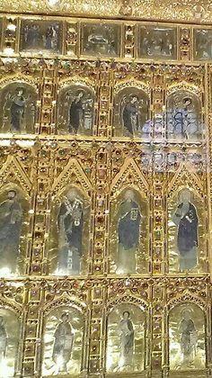 Basilica di san marco la pala d'oro details