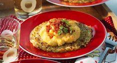 Œufs brouillés et galette de pommes de terreVoir la recette des Œufs brouillés et galette de pommes de terre >>