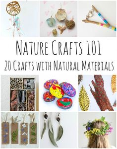 Nature Crafts 101 - 20 Stunning Crafts Using Items Found in Nature