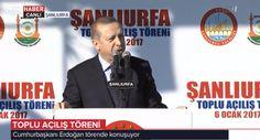 Milletin Adamı Cumhurbaşkanımız Sn.@RT_Erdogan an itibariye Rabia Meydanında Şanlıurfa'lı hemşehrilerimize hitap ediyor.