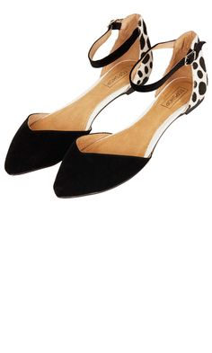 Topshop Pointed Flat Shoes, £28