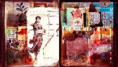 Orly Avineri. art journaling, mantra